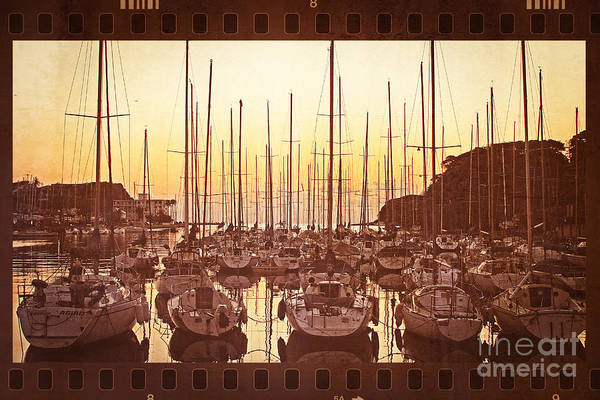 Photograph - Yacht Harbor In The Late Afternoon by Beverly Claire Kaiya