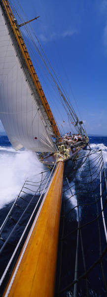 Wall Art - Photograph - Yacht Mast Caribbean by Panoramic Images