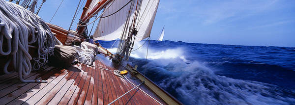 Schooner Photograph - Yacht Race by Panoramic Images