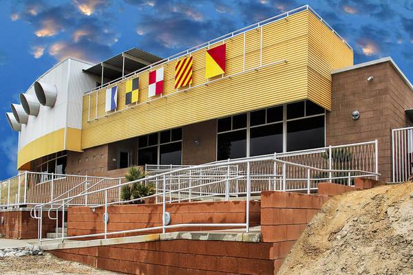 Wall Art - Photograph - Yacht Rock North Shore Yact Club Salton Sea by William Dey
