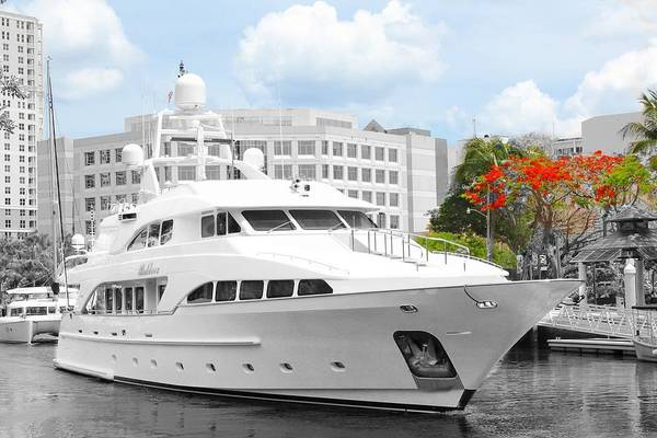 Photograph - Yacht Watch Series 02 by Carlos Diaz