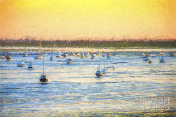 Leigh On Sea Photograph - Yachts At Leigh On Sea by Sheila Smart Fine Art Photography