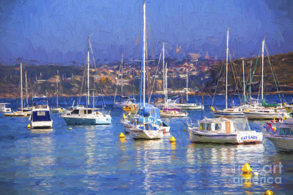 Wall Art - Photograph - Yachts In Manly Harbour by Sheila Smart Fine Art Photography