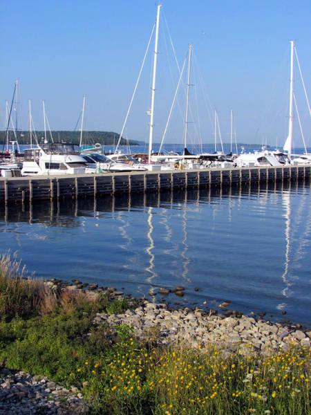 Yachtworks Marina Sister Bay Art Print