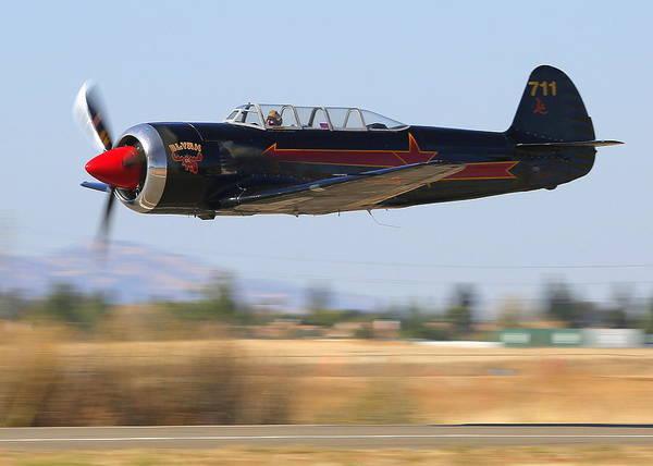 Photograph - Yakovlev Tak-11 Fly-by Nx2124x by John King