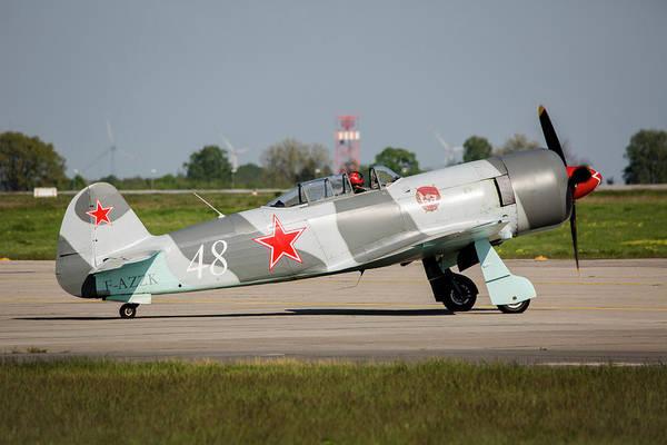 Yakovlev Photograph - Yakovlev Yak-3u Warbird by Timm Ziegenthaler
