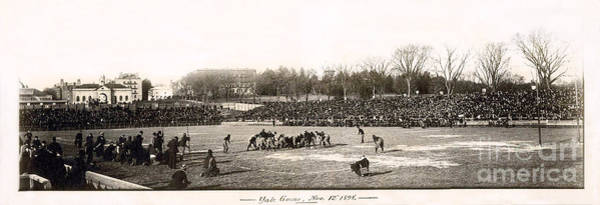Reno Wall Art - Photograph - Yale Football Circa 1898 by Jon Neidert