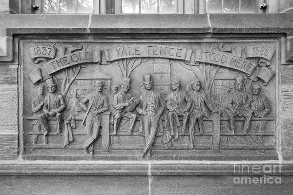 Photograph - Yale University Fence Club Detail by University Icons