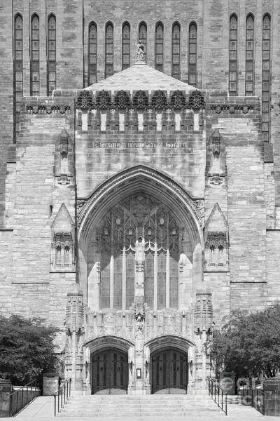 Photograph - Yale University Sterling Memorial Library by University Icons