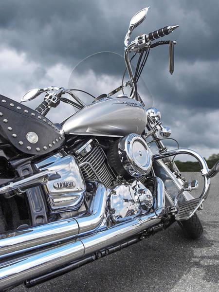 Photograph - Yamaha Dragstar 1100 by Gill Billington