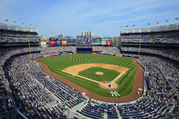 Photograph - Yankee Stadium by Mark Whitt