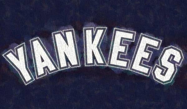 Painting - Yankees On Canvas by Dan Sproul
