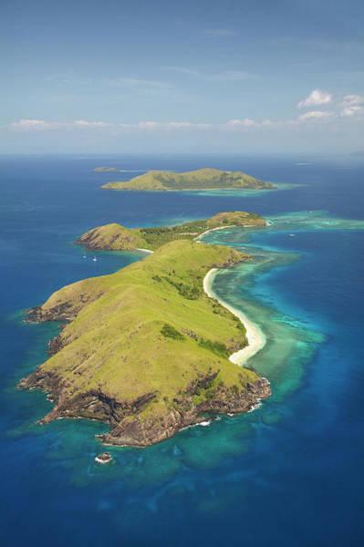 Foreshore Photograph - Yanuya Island, (and Tavua Island by David Wall