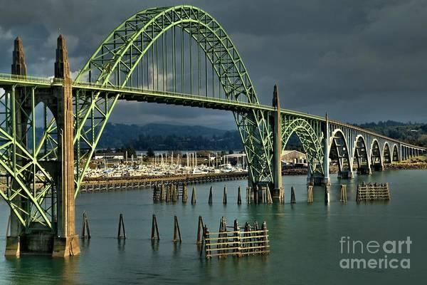 Photograph - Yaquina Bay Bridge by Adam Jewell