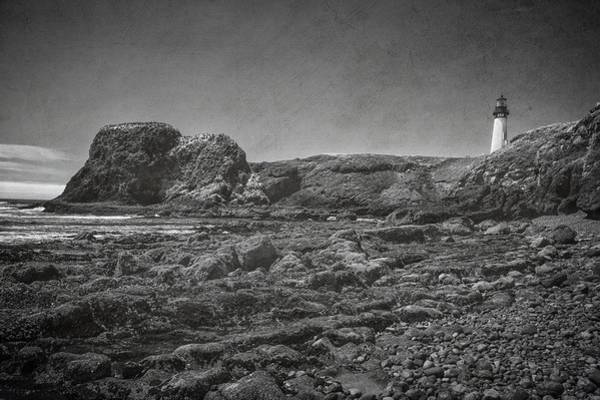 Photograph - Yaquina Head Lighthouse by Joan Carroll