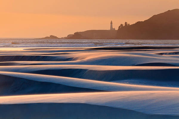 Wall Art - Photograph - Yaquina Head Swirling Sands by Katherine Gendreau