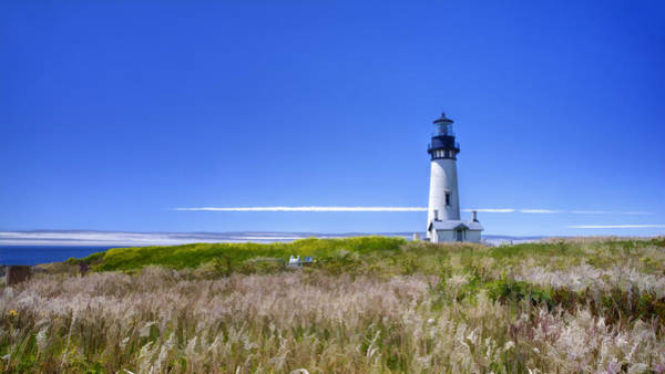 Photograph - Yaquina Lighthouse II by Joan Carroll