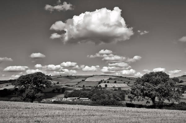 Photograph - Yarde Downs - Bradninch by Pete Hemington