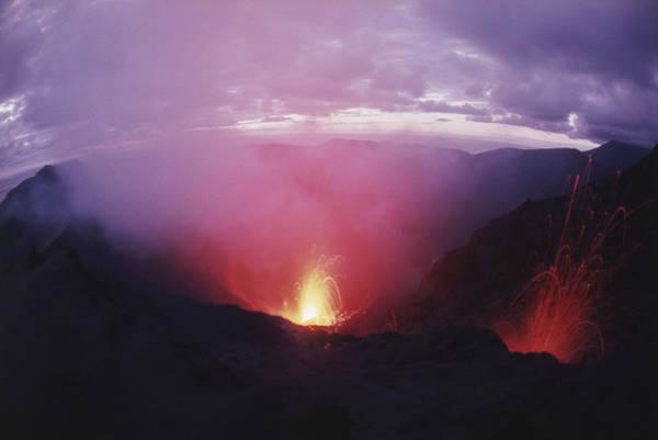 Yasur Photograph - Yasur Volcano by Gordon Gahan