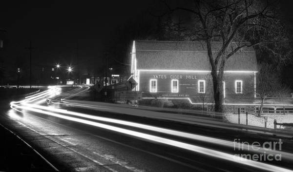 Rochester Photograph - Yates Cider Mill At Christmas by Twenty Two North Photography