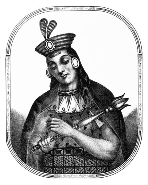 Wall Art - Photograph - Yawar Waqaq, Sapa Inca, Kingdom Of Cuzco by British Library
