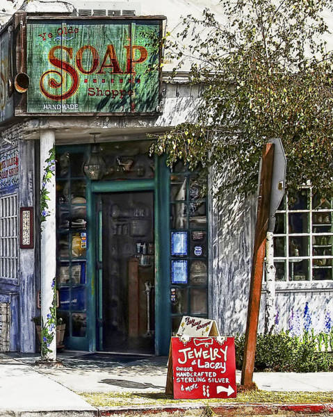 Photograph - Ye Old Soap Shop by Wayne Wood