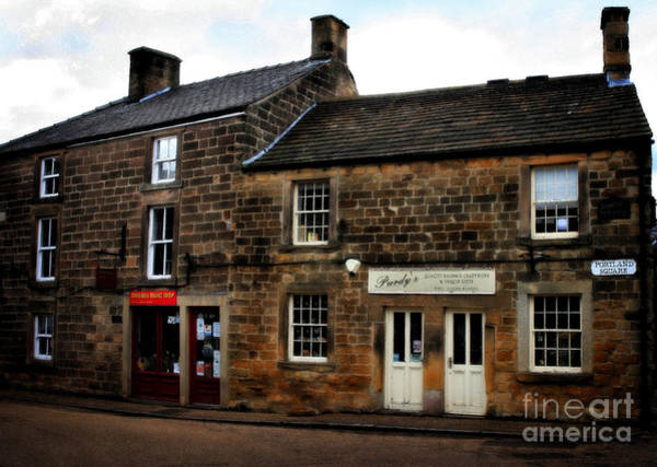 Photograph - Shops In Scotland by Doc Braham