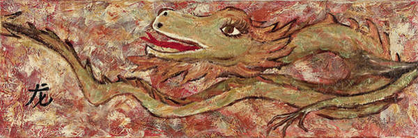 Painting - Year Of The Dragon 2 by Darice Machel McGuire