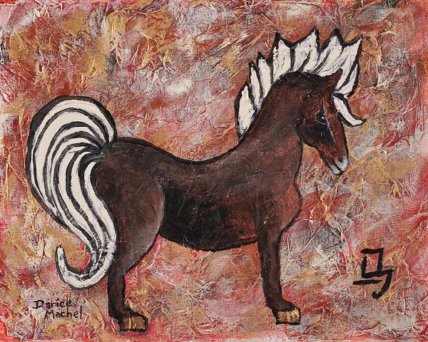 Painting - Year Of The Horse by Darice Machel McGuire