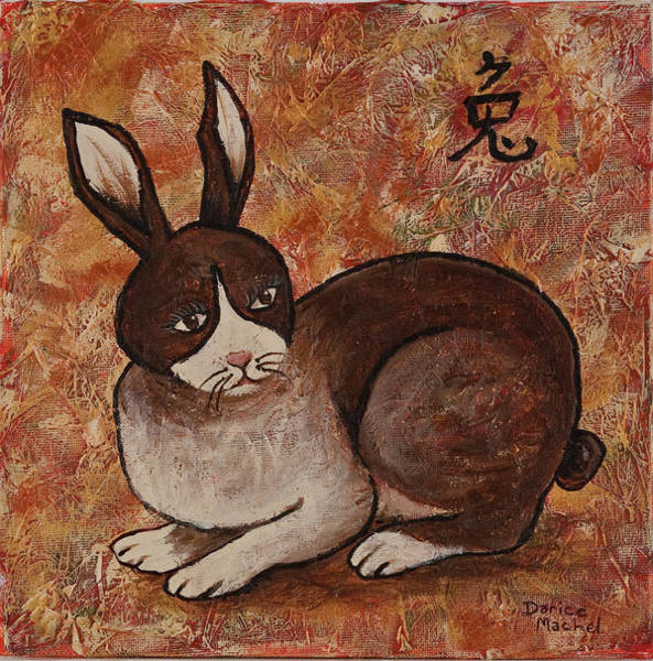 Painting - Year Of The Rabbit by Darice Machel McGuire