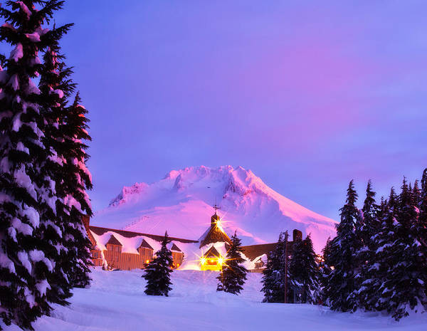 Timberline Photograph - Years End by Darren  White
