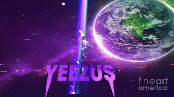 Wall Art - Digital Art - Yeezus1 by Maryfornia Collections