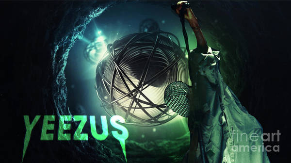 Wall Art - Digital Art - Yeezus10 by Maryfornia Collections