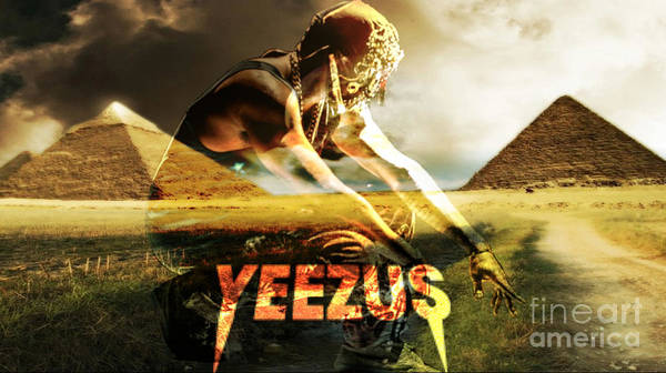 Wall Art - Digital Art - Yeezus2 by Maryfornia  Collections