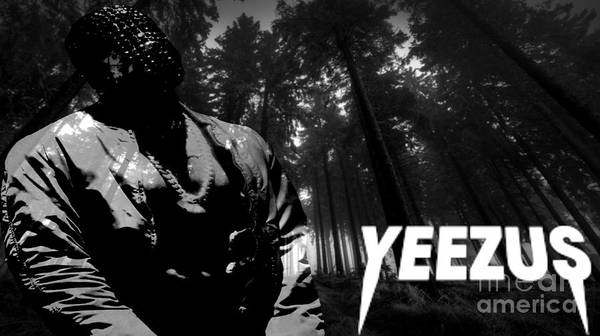 Wall Art - Digital Art - Yeezus3 by Maryfornia  Collections