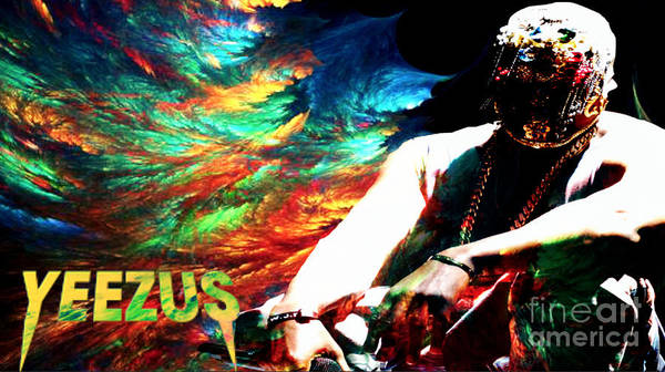 Wall Art - Digital Art - Yeezus6 by Maryfornia Collections