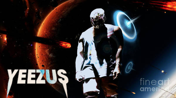 Wall Art - Digital Art - Yeezus7 by Maryfornia Collections