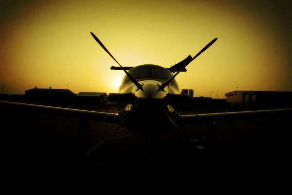 Kimberley Airport Photograph - Yello Lady by Paul Job