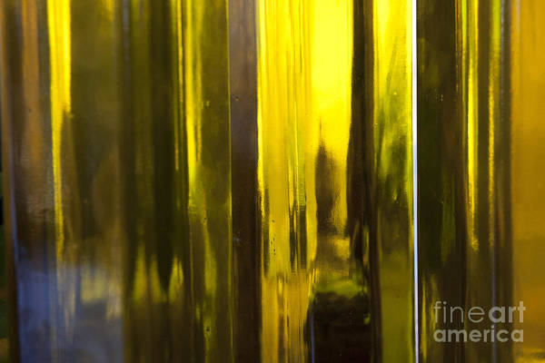 Photograph - Yellow Abstract by Crystal Nederman