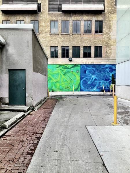 Green Wall Art - Photograph - Yellow And Blue Make Green by Kreddible Trout