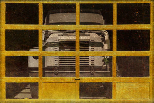 Semi Truck Photograph - Yellow Cage by Jeff  Gettis