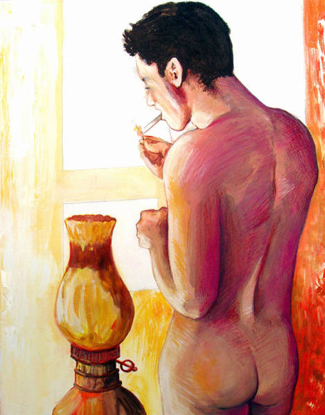 Painting - Yellow Cigarette  by Rene Capone