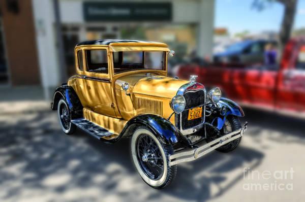 Canada Wall Art - Photograph - Yellow Ford 1929 by Viktor Birkus
