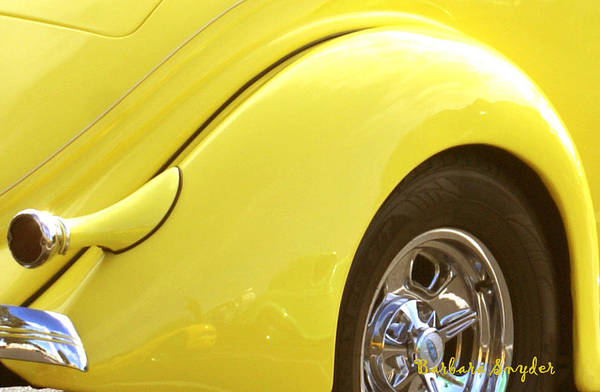 Morro Bay Digital Art - Yellow Ford by Barbara Snyder