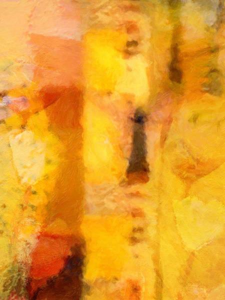 Painting - Yellow Garden by Lutz Baar