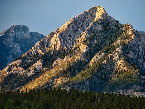 Wall Art - Photograph - Yellow Mountain Top by James Wheeler