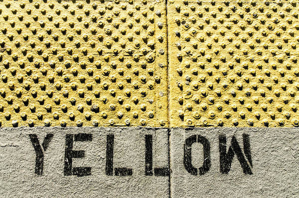 Photograph - Yellow Patterns By Definition by Gary Slawsky