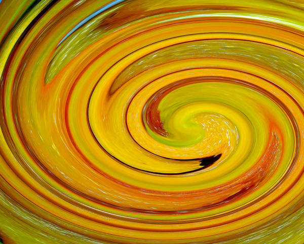 Photograph - Yellow Pepper Swirl by Tikvah's Hope