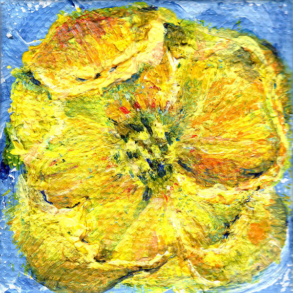 Painting - Yellow Poppy by Regina Valluzzi