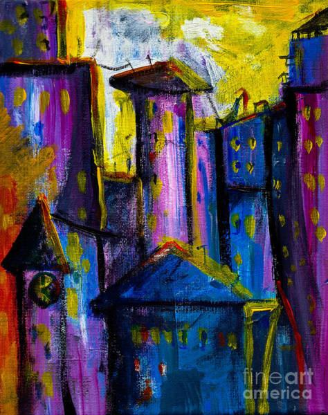 Painting - Yellow Sky by Maxim Komissarchik